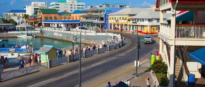George Town in the Cayman Islands